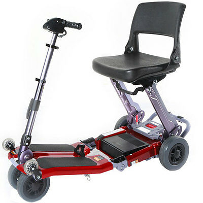 Luggie Portable Folding Lightweight Mobility Scooter Electric Wheelchair