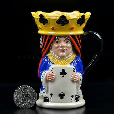 Royal Doulton KING & QUEEN of CLUBS English Character Toby Jug D6999 LIMITED