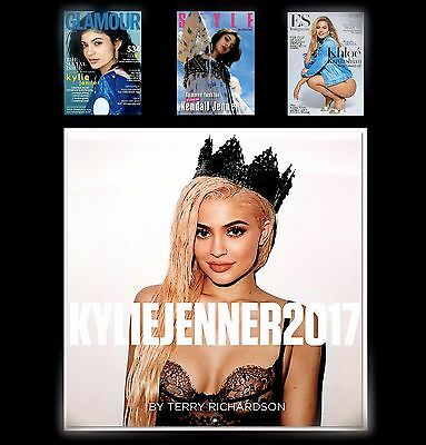 Official Kylie Jenner Calendar 2017  New&sealed +3 Magazines Kylie/kendall/khloe