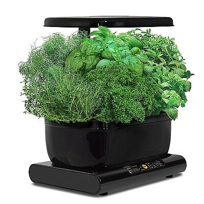 Miracle-Gro AeroGarden Harvest with Gourmet Herb Seed Pod Kit Black