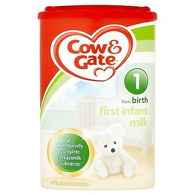 Cow and Gate Stage 1 From Newborn First Infant Milk from Newborn 900 g (Pack ...