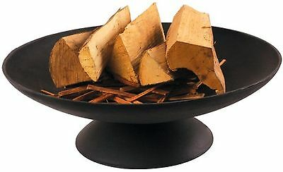 Esschert Ff44 21 x 59 x 59cm Large Fire Bowl Cast-Iron - Black