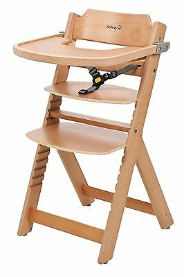 Safety 1st Timba Wooden Highchair (Natural)