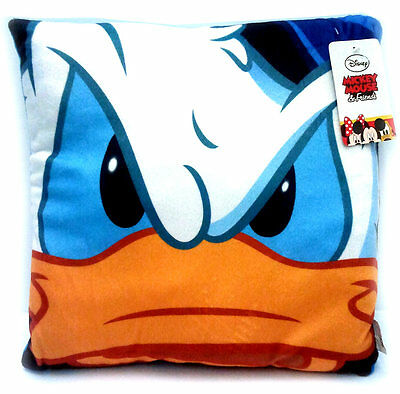 Donald Duck - Paperino Cuscino Quadrato 36 X 36 Cm. Walt Disney JOY TOY
