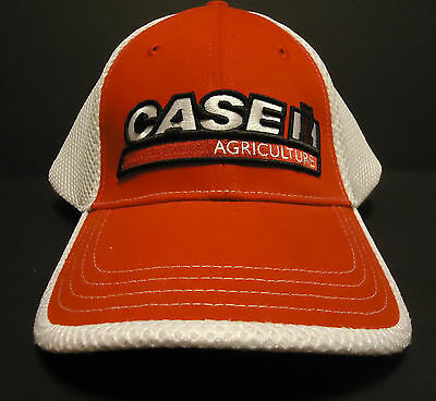 Case International Agriculture Farm Baseball Hat Cap Red and White