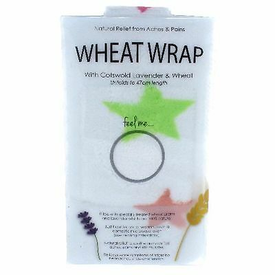 White Star Wheat Wrap in Acetate Gift Box  Arthritis Pain Ache Stiff Muscles Bed