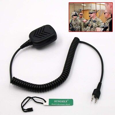 Fast Ship Handheld Shoulder Speaker Mic Midland 2/Two Way Radios -US STOCK