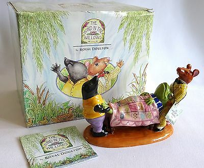 Royal Doulton Wind In The Willows No Amount of Shaking WW3 MIB Cert - FREE P&P!