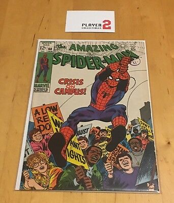 The Amazing Spider-Man # 68, Crisis On Campus!