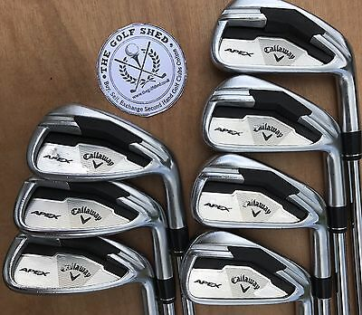 Callaway APEX FORGED Irons - 4 - PW - KBS TOUR STIFF SHAFTS