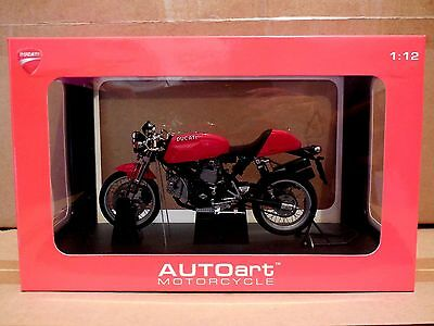 1/12  Autoart Motorcycle  Ducati  Sport 1000  Red **special Price**
