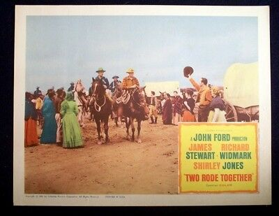 Two Rode Together Original 11X14 Lobby Card 1961