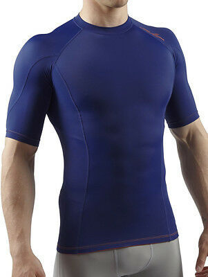 Sub Sports Elite RX Short Sleeve Mens Comprtession Top - Navy