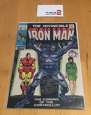 The Invincible Iron Man # 12, The Coming Of The Controller!