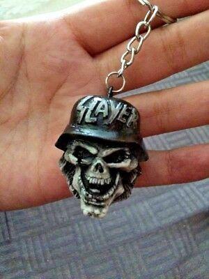 Slayer KeyChain Power Fuel Resin Music Album Metal New