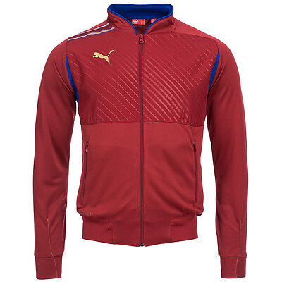 Puma King Walk Out Mens Training Jacket - Red