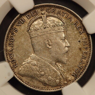Canada - Newfoundland 20 Cents 1904-H Silver NGC XF40