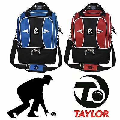 Thomas Taylor Double Decker Lawn Bowls Shoulder Bag 2 Bowl Gym Sports Bag