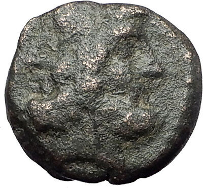 Thessalonica in Macedonia under Romans Ancient Greek Coin  JANUS CENTAURS i61847
