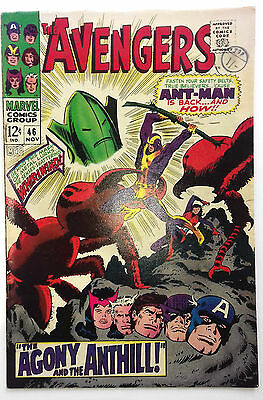 "Avengers #46 ""The agony and the anthill"" , Marvel comics 1967"