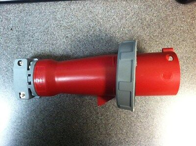 New in the box, Hubbell HBL460P7W 60AMP, 480 Volt watertight receptacle