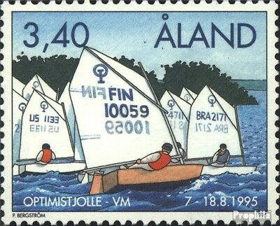 Finland-Aland 104 (complete issue) unmounted mint / never hinged 1995 Sailing