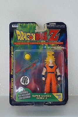 DRAGON BALL Z Super Saiyan Goku 3 Series 10 1999 Irwin Saga Continues Box DBZ