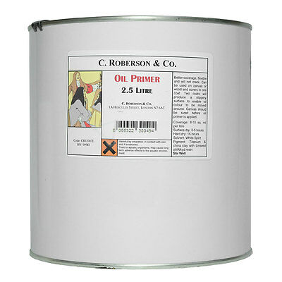 Roberson : Oil Primer : 2.5 Litre : By Road Parcel Only