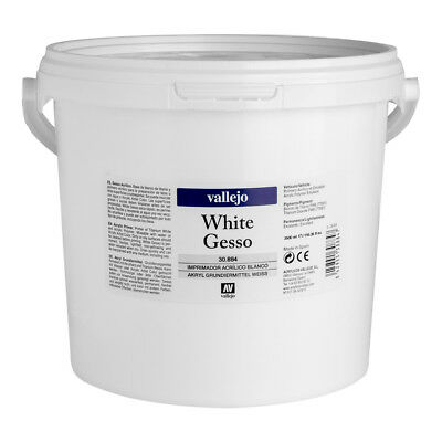 Vallejo : Acrylic Gesso : 3500ml (By Road Parcel Only)