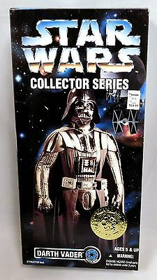 "1996 Kenner Star Wars Collector Series Darth Vader 12"" Action Figure New Sealed"