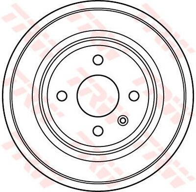OPEL ASTRA G 1.6 Brake Drum Rear 03 to 05 TRW 24444064 568066 Quality New
