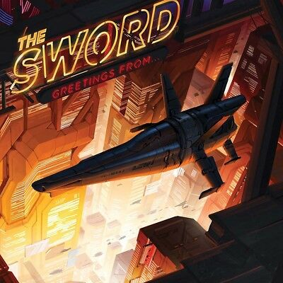 THE SWORD Greetings From LP Vinyl Spinefarm NEW 2017