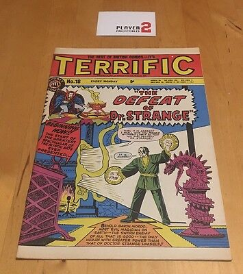 It's Terrific # 18, A Power Comic - Weekly British Marvel (1960's)