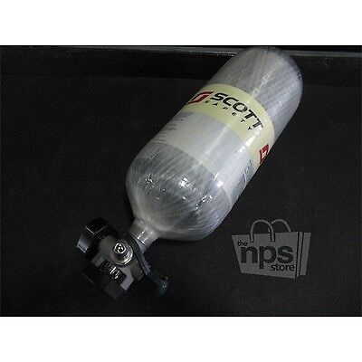 Scott 200129-01A 4500 PSI Cylinder for Self-Contained Breathing Apparatus, Empty