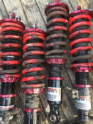 Miester R Zeta Adjustable Coilovers Suspension Jdm Integra Type R Dc2 Eg Civic