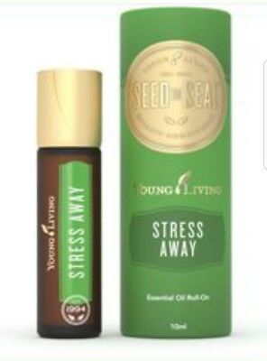Stress away %100pure Young Living essential oil 10ml copaiba lime cedarwd lavndr