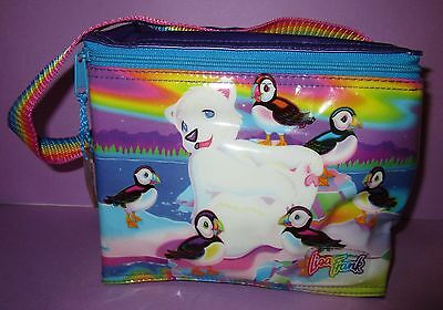 Lisa Frank Lunch Bag Polar Bear Cooler Roary Vintage Hard To Find Tote Insulated
