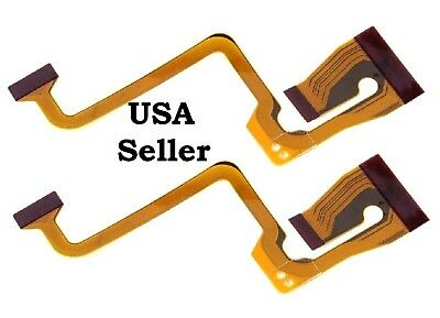 Screen Display LCD Flex Cable Ribbon Repair Part for JVC GR-D850 GR-D870 New