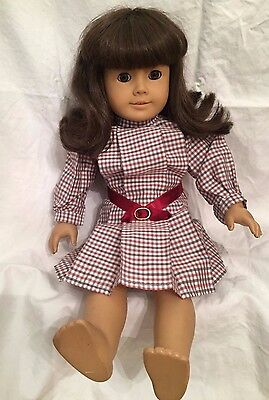 American Girl Pleasant Company Doll with Brown Hair and Brown Eyes