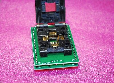 1Pcs QFP44/PQFP44/TQFP44 To DIP44 SA245A IC Programmer Socket Adapter A424