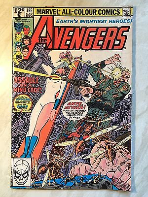 The Avengers #195 Marvel Comics 1st Taskmaster 1980