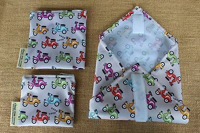 Litter Free Living - Little Vespa Sandwich Wrap Set