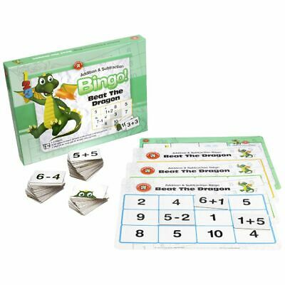 Learning Can Be Fun Addition and Subtraction Bingo