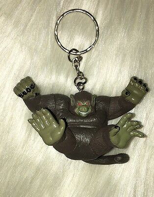Dragon Ball Z Japan Anime Figure Keychain Monkey Ape Saiyan