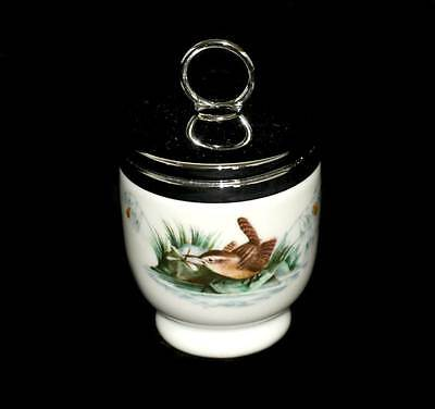 Vintage Royal Worcester Wren pretty egg coddler in excellent condition