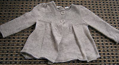 Country Road Baby Girls Wool Cardigan Sz  9 - 12 Months
