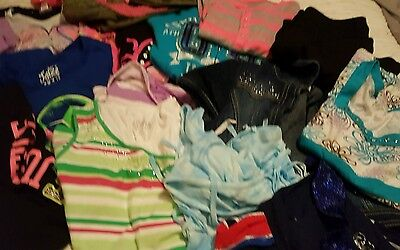 Girls Justice Mixed Lot Sz 10/12 Shirts, Jeans, Skirts, Shorts And More!