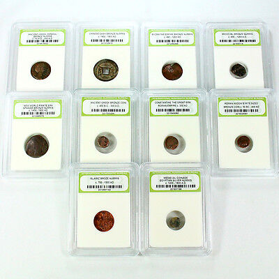 Complete 10 Coin Ancient Collection. 10 Different Ancient Coins!