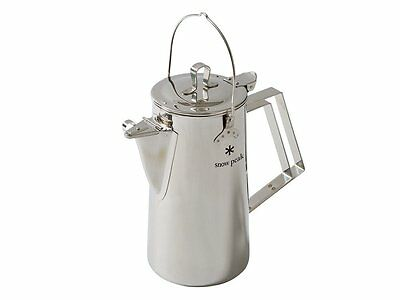 NEW SNOW PEAK CLASSIC KETTLE 1.8l COFFEE TEA POT CAMP OUTDOOR COOKWARE CS-270