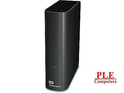 "WD Elements 3TB USB3.0 3.5"" Black External HDD [WDBBKG0030HBK]"